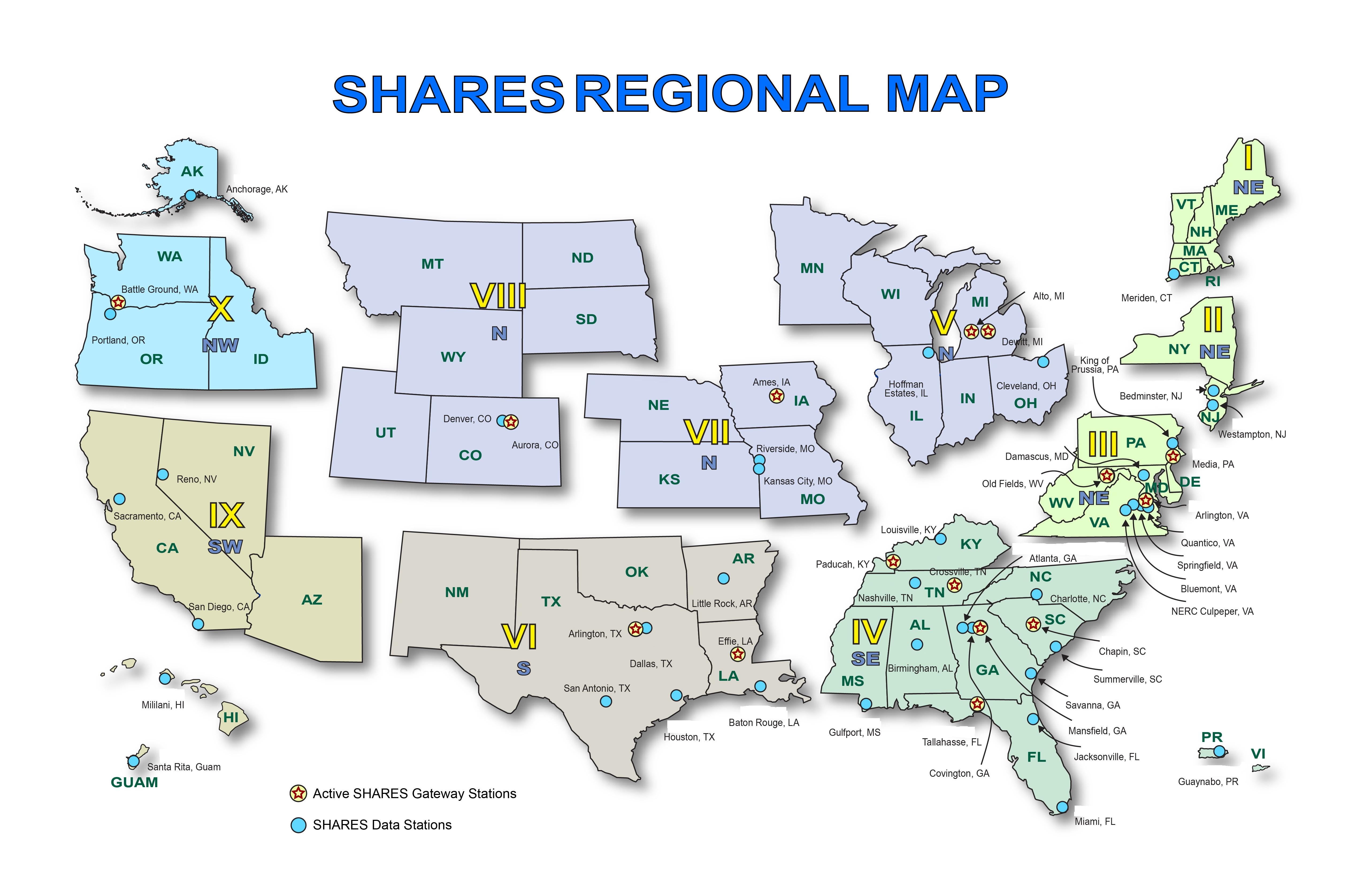 Fema Region Map Idaho ARES   Resources   DHS, FEMA, IOEM & ARES